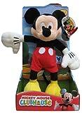 Plüschfigur Mickey - Disney - Mickey Mouse Clubhouse, ca. 26 cm groß