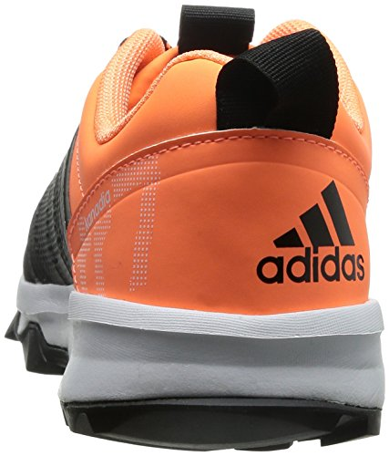 adidas Kanadia 7, Chaussures de Trail Femme noir (Core Black/Core Black/Flash Orange S15)