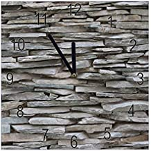 Banjado Wanduhr Aus Glas | Geräuscharme Uhr 30x30cm | Glasuhr Für Küche,  Büro, Wohnzimmer