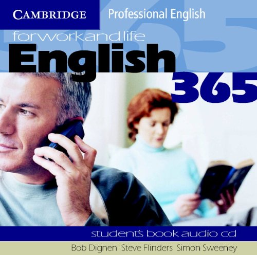 English365 1 Audio CD Set (2 CDs): For Work and Life (Cambridge Professional English)