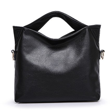 Mefly Grande capacità di moda borsetta blu black