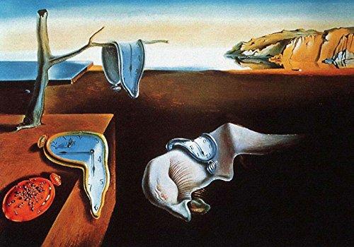 PERSISTENZA DELLA MEMORIA Salvador Dalí - 70x100 cm - Poster Artistico - Falso d'autore