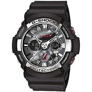 Casio Reloj Analogico-Digital para Hombre de Cuarzo con Correa en Resina GA-200-1AER