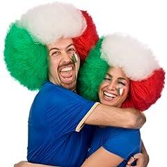 Idea Regalo - Carnival 02981 - Parrucca Italia Tx in Busta