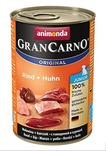 Animonda-GranCarno-Junior-Hundefutter-Nassfutter-fr-Hunde-im-Wachstum-verschiedene-Geschmacksrichtungen