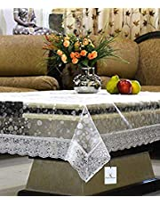 Kuber Industries PVC Table Cover - 3D Transparent