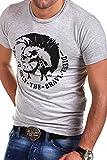 Diesel T-Shirt Polo ACHEL [Grau, XXL]
