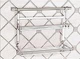 Inoxidable cocina de acero estante de la especia estante de la pared de estanterías de almacenamiento en rack rack rack de cocina condimentos