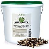 AniForte 2,5 Liter Eimer Trockenfisch 200 g Vital-Snacks Hundeleckerlie- Naturprodukt für Hunde