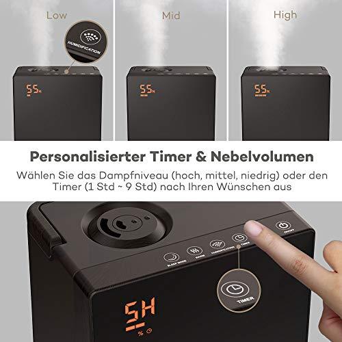 TaoTronics TT-AH006 DE Ultraschall Luftbefeuchter - 4