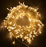 #1: The Kingdom Store Rice String Lights Warm White Color 10M For Decorative Purposes 10M To 100M Fairy Leds With 8 Pattern Operation