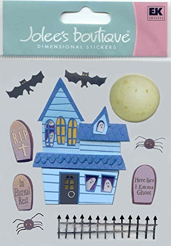 Jolee's Boutique Dimensional Stickers Haunted Halloween Theme by Jolee's Boutique