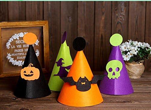 YOIL de Creative Party Supplies Décorations Halloween d'acce Anniversaire Party Accessoires Halloween Décorations Chapeau  s Drôle Sorcière Chapeau Bat Cap Jaune 2097fa
