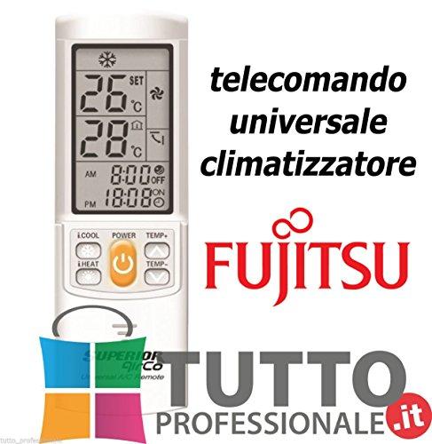 Telecomando universale condizionatore climatizzatore FUJITSU UNIVERSALE