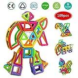 infinitoo IN6-A004 109tlg XXL Magnetische Bausteine Bauklötze Groß