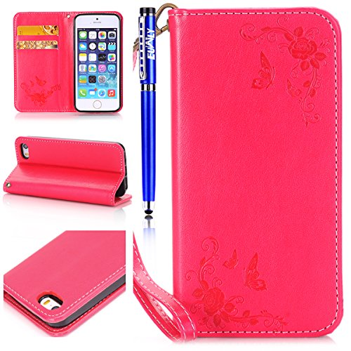 custodia a libro magnetica iphone 6