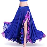 ROYAL SMEELA para Mujer, para la Falda de Danza del Vientre,Azul Oscuro