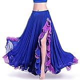ROYAL SMEELA da Donna, per la Danza del Ventre Abbigliamento Gonna,Dark Blue