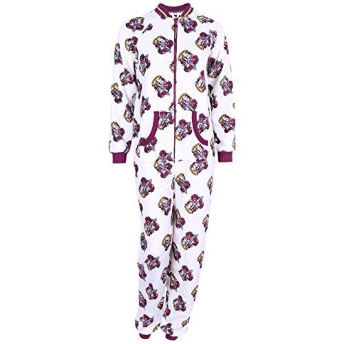 Harry Potter Gryffindor - Pijama de una Pieza - para Mujer Blanco Weiß
