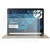 Bruni Schutzfolie für Acer Swift 7 Folie - 2 x glasklare Displayschutzfolie