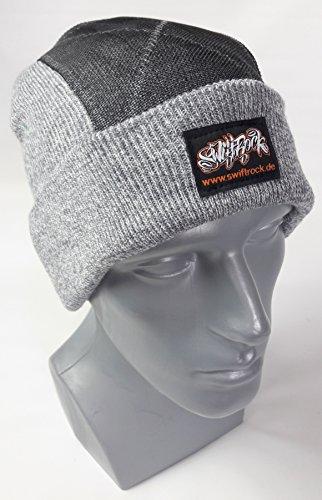 Swift Rock Classic Break Dance Headspin Beanie (Hellgrau / Sport Gray)