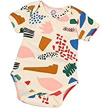 ZIHOUKIJ Batas Infantiles Abrigos para niña bebé niñas niños Outwear algodón orgánico Romper ...