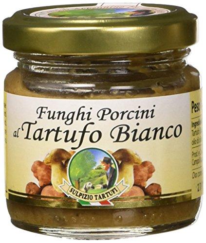 Sulpizio Tartufi Crema ai funghi porcini e tartufo bianco - 80 g