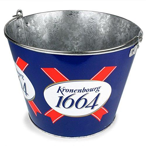 Kronenbourg Metall Ice Bucket