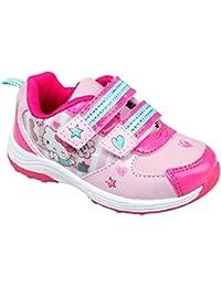 gibra Hello Kitty Kinder Sportschuhe mit Klettverschluss Original Lizenzware Gr. 24-32