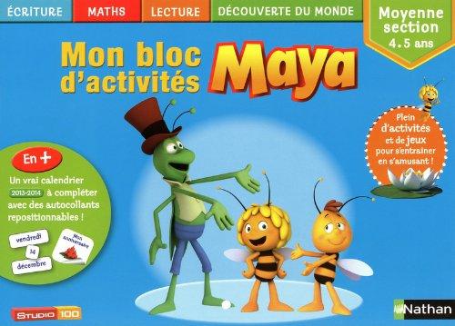 Mon bloc d'activités Maya MS par Me Bernadette COSTA-PRADES