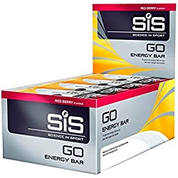 Barrita Energética GO Energy Mini Bar SIS Frutos Rojos 30 x 40g