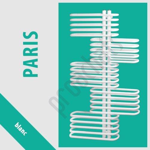 RADIATEUR SALLE DE BAINS sèche- serviettes PARIS blanc P-25 1300x700