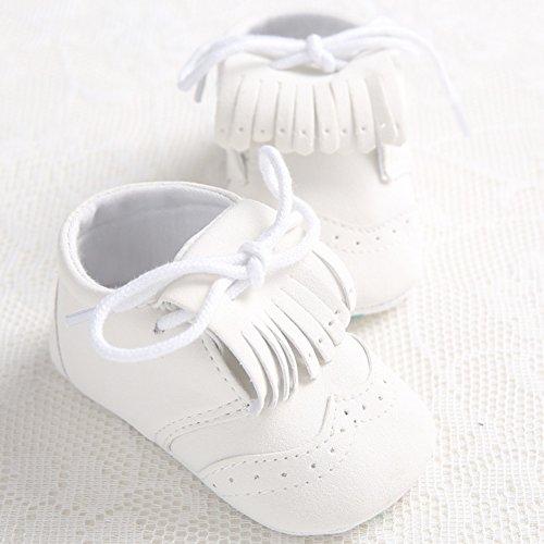 Leap Frog  Spectator Moccasins, Baby Mädchen Lauflernschuhe Weiß