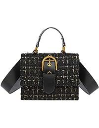 149f7abd3ce2 asiproper Luxury Satchel Wool Crossbody Handbags Casual Women Flap  Messenger Shoulder Bags