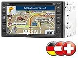 NavGear PX 2856–906StreetMate GPS avec Voiture Radio (Double DIN, 15,2cm (6Pouces) Écran Tactile, Tuner FM, Lecteur de Carte microSD)