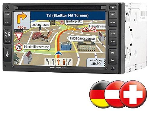 Navgear px-2856-906 streetmate - navigatore satellitare con autoradio (2-din, 15,2 cm (6