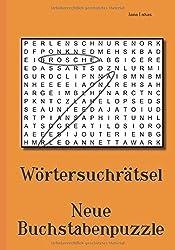 Wörtersuchrätsel - Neue Buchstabenpuzzle