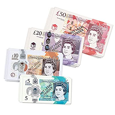 Learning Resources UK MONEY SET (50 NOTES) from Learning Resources (UK Direct Account)