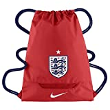 Nike Allegiance England Gymsack Sportbeutel, Challenge Rot/Navy Blau/Weiß, One Size