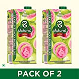Best Juices - B Natural Guava Juice 1L, (Pack of 2) Review