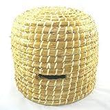 simonthebeekeeper–colmena abeja en paja hecha hecho mano Large