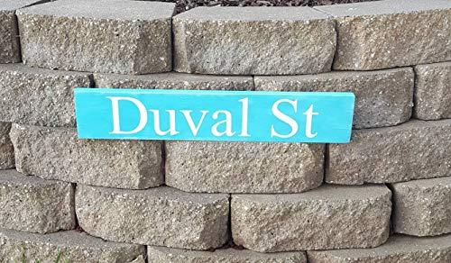 Beyyins Duval Street Duval Street Schild Key West Key West Schild Key West Art Key West Decor Key West Decor Beach House Decor Jimmy Buffett