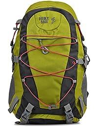 HIKE Women& Men Outdoor Travel Backpack 60-70 Litre Green Hiking Bag