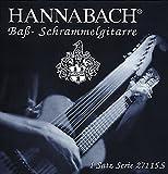 Hannabach 659079 Lot de 15 Cordes pour Basse viennoise