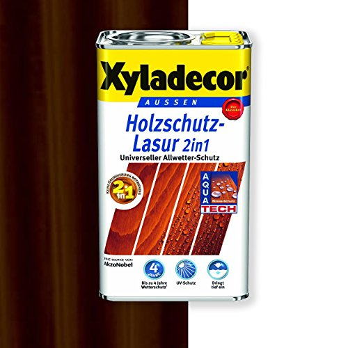 Xyladecor Holzschutz-Lasur 2in1 (750 ml, palisander)