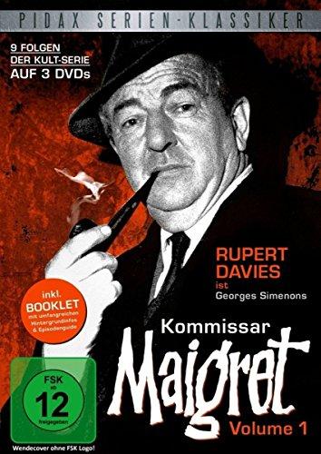 Pidax Serien-Klassiker: Kommissar Maigret, Vol. 1 - 9 Folgen [3 DVDs]