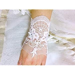 Vintage wedding cuff bracelet vintage romantic lace