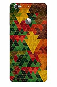 KALAKAAR Printed Back Cover for LeTV Le 1s,Hard,HD Matte Quality,Lifetime Print Warrenty