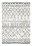 Decoweb Tapis Motif Berbère Dharan (Clair, 200 x 290 cm)...