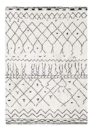 Decoweb Tapis Motif Berbère Dharan (Clair, 200 x 290 cm)